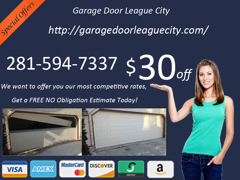 Garage Door League City Tx Spring Repair League City Texas